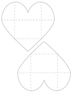 free printable heart envelopes