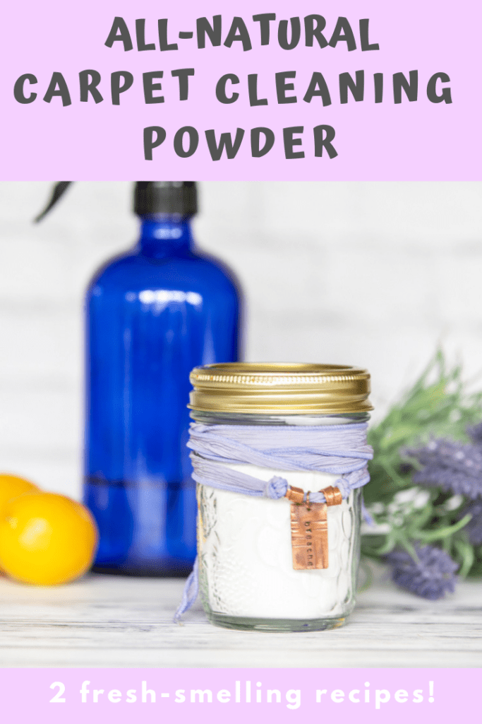 all-natural carpet cleaning powder