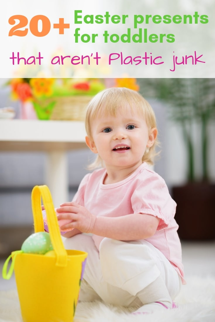 20+ Easter presents for toddlers that aren't plastic junk