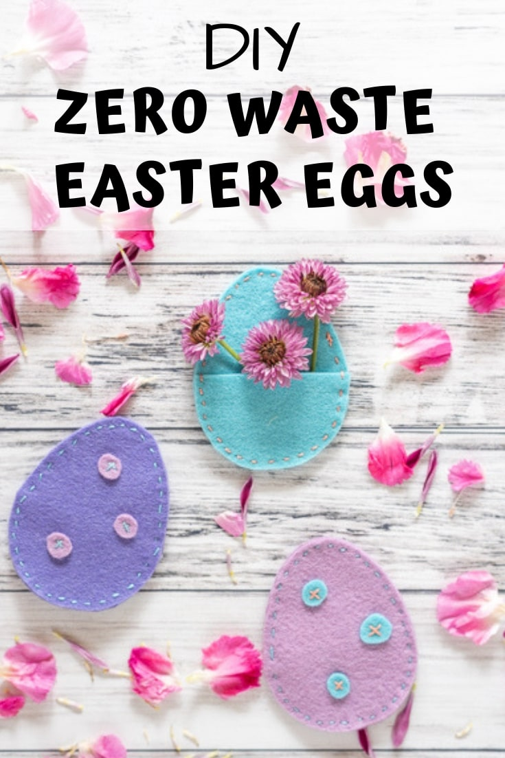 DIY zero waste Easter eggs