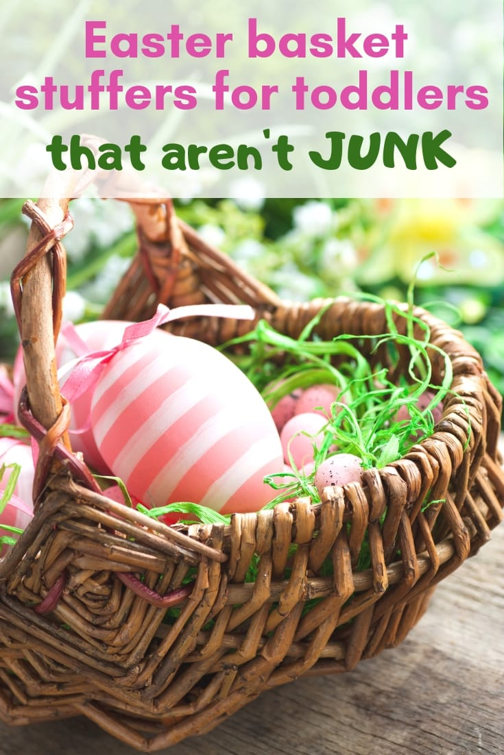 Easter basket stuffers for toddlers that aren't junk