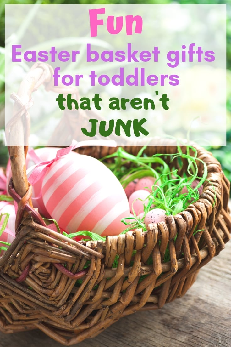 Fun Easter basket gifts for toddlers that aren't junk