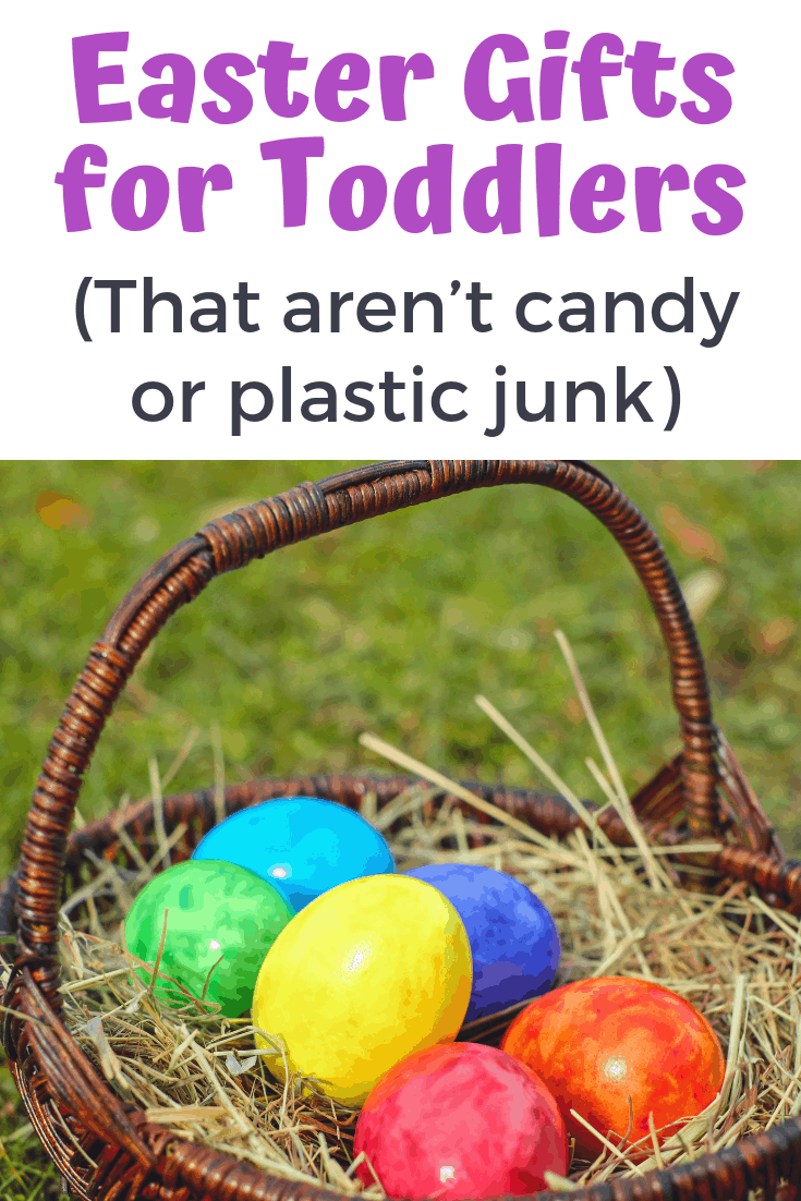 Non-candy Easter gifts for toddlers