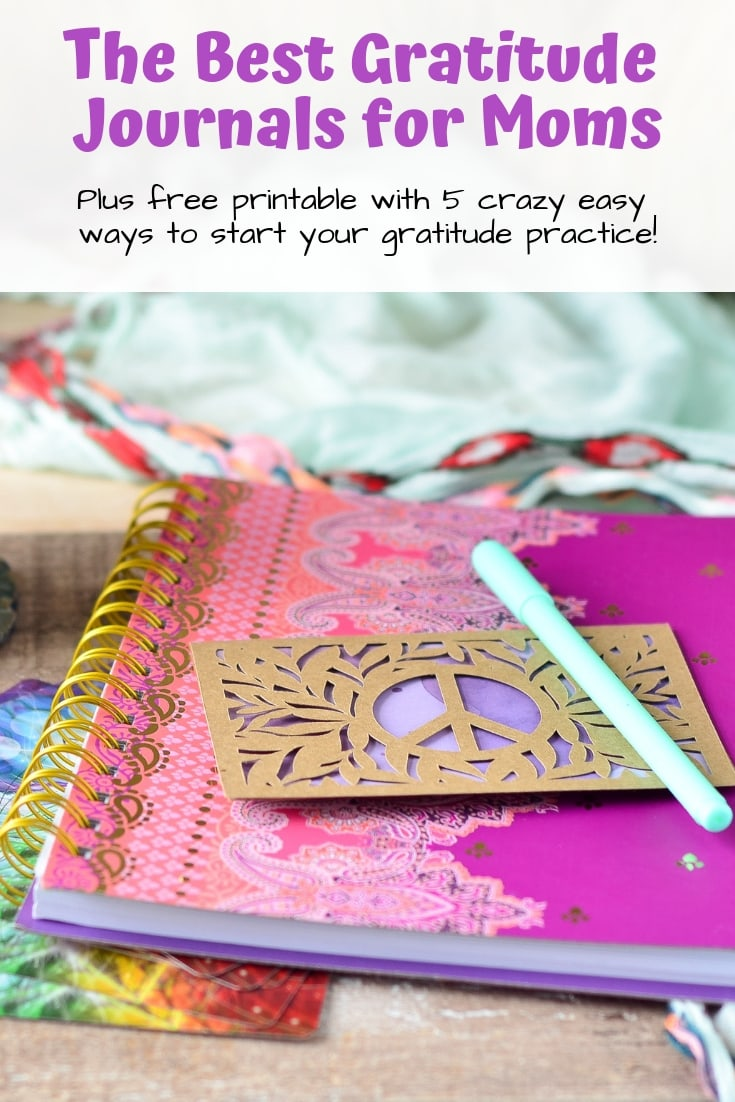 The Best Gratitude Journals for Moms Under $20 (with free printable!)