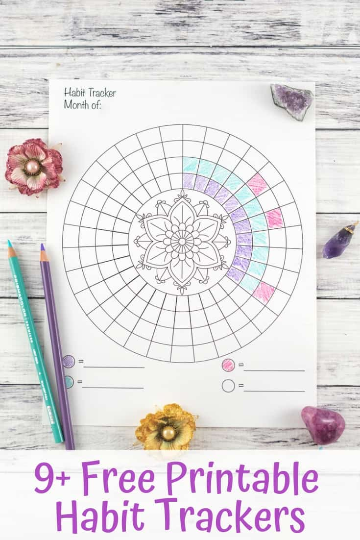 Free Printable Habit TrackersFree Printable Habit Trackers