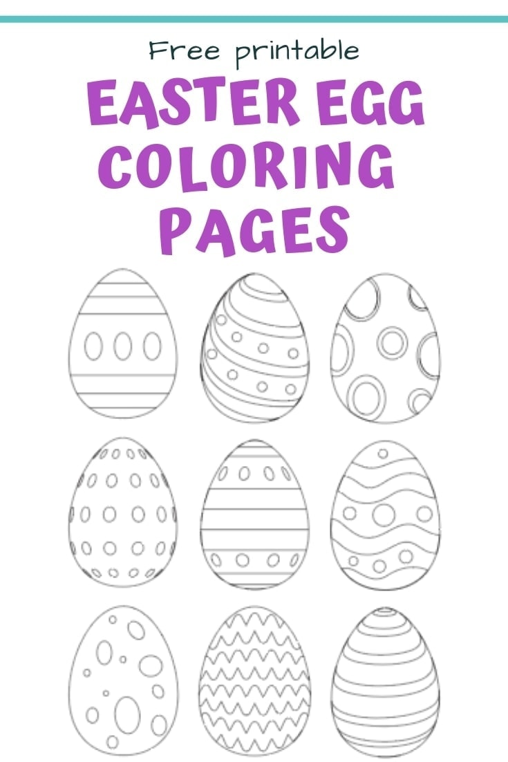 25 free printable easter egg templates easter egg coloring pages by natasha on march 8