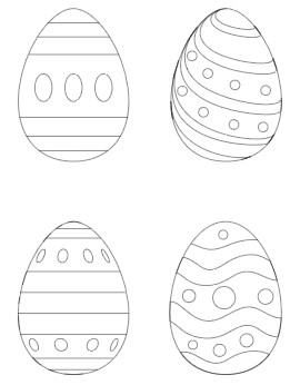 25+ Free Printable Easter Egg Templates & Easter Egg Coloring Pages ...