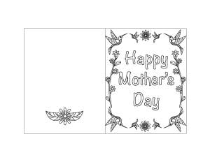 printable mother's day card 5
